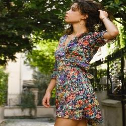 𝓢𝓾𝓷𝓭𝓪𝔂 𝓥𝓲𝓫𝓮𝓼 🍎🍒🍓robe doublée coton 29€€ #sunday #sundayvibes #flowerdress🌸