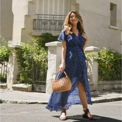 𝓻𝓮𝓷𝓭𝓮𝔃-𝓿𝓸𝓾𝓼 𝓿𝓲𝓽𝓮 𝓼𝓾𝓻 𝓷𝓸𝓽𝓻𝓮 𝓔𝓼𝓱𝓸𝓹  #shopping #bluedress #maxidress #summerlove